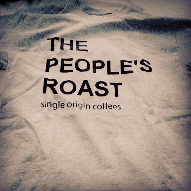 The People's Roast Army Style Gray T - LARGE