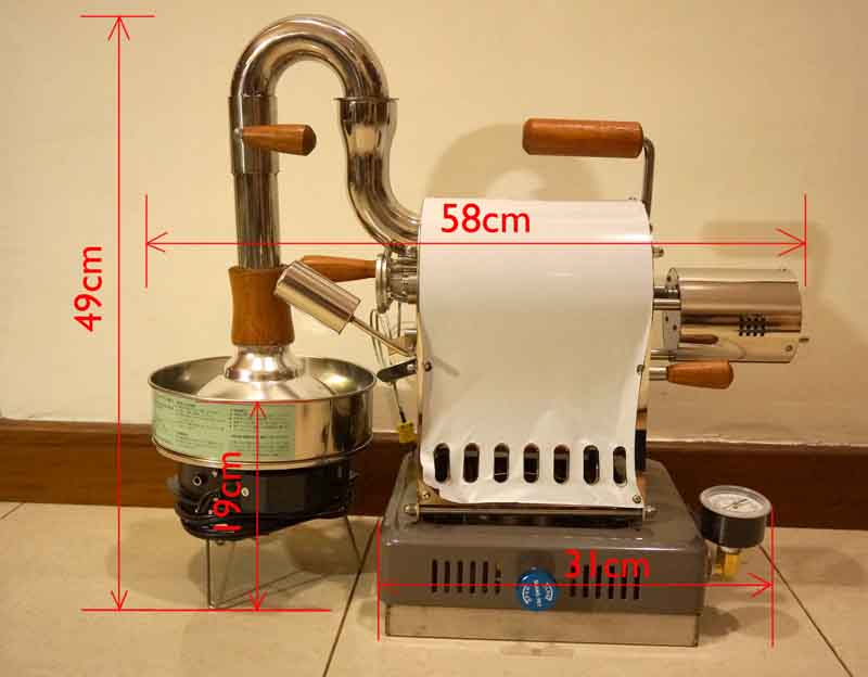 Huky 500 Roaster - The People's Roast